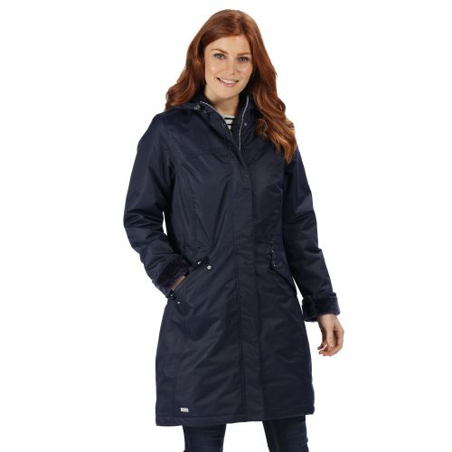 Women's Voltera Waterproof Heated Jacket Navy